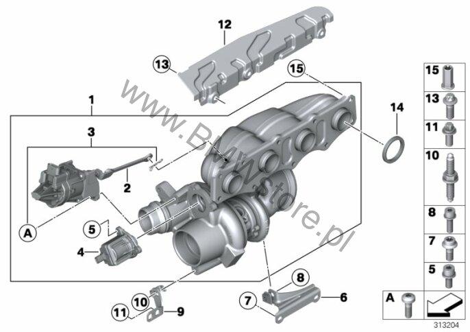 turbospr u0119 u017carka bmw x1 e84 x1 16i sav ece