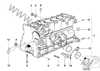 silnik bmw z3 e36 z3 m3 2 s52 coup usa grupa cz ci E36 M3 Slammed blok silnika 11 6235