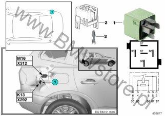 Elektryka Pojazdu Bmw X3 E83 X3 20d Sav Ece Grupa Części