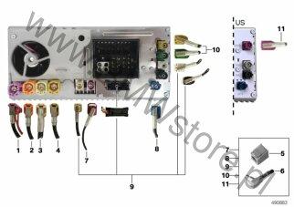 Elektryka Pojazdu Bmw X3 G01 X3 M40ix Sav Usa Grupa Części