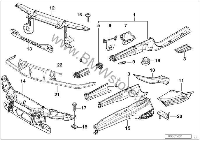 konstrukcja przednia  poj  cz u0119 u015bci bmw 3 u0026 39  e36 318i cabrio